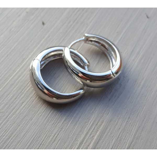 Kreolen aus vergoldetem Silber 01