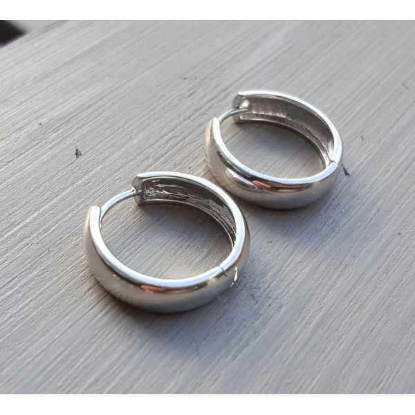 Creoles silver-plated 02