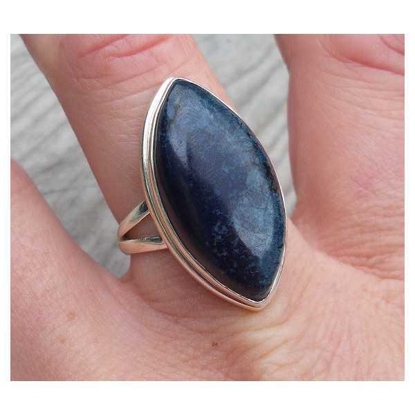 Silber ring set mit marquise Vivianiet 18 mm