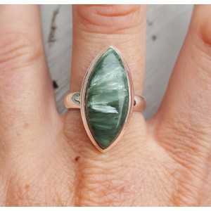 Silber ring mit marquise Seraphiniet 18,5 mm