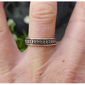 Zilveren bali ring Aninda verstelbaar