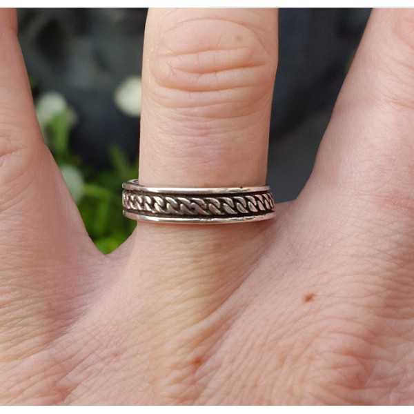Silber bali ring Aninda einstellbar
