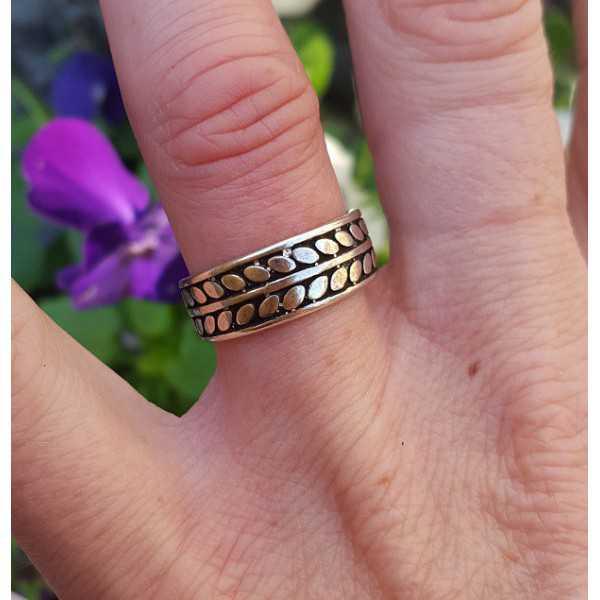 Silber ring verstellbar