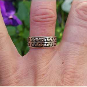 Zilveren ring verstelbaar 01