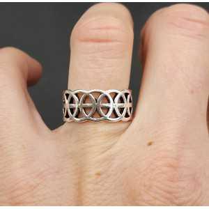Silber Kelten ring verstellbar