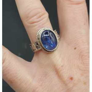 Silber ring set mit Kyanit 17.3 mm oder 18 mm