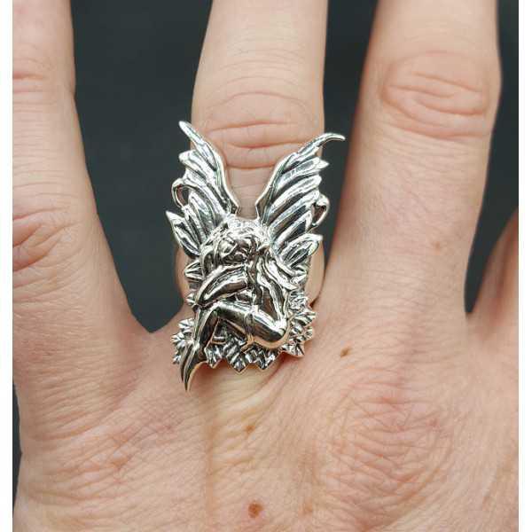 Silber ring elf 17 mm