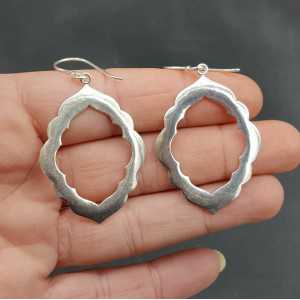 Silver earrings Fatamorgana