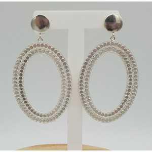 Silver earrings dreamer