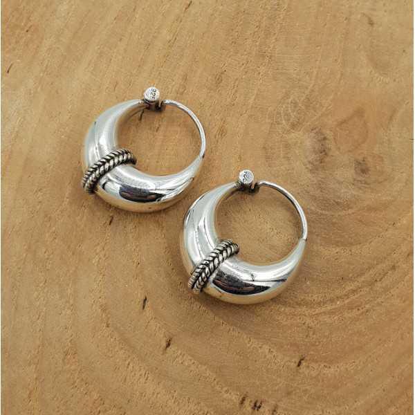 Kreolen Ohrringe Silber 02 bearbeitet