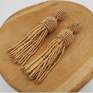 Gold Quaste Ohrringe