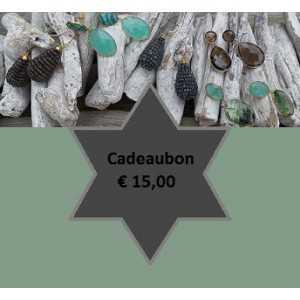 Gift voucher for € 15,00