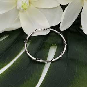 Silver bracelet / bangle