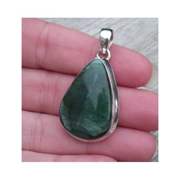 Silver pendant with drop shape Antigoriet