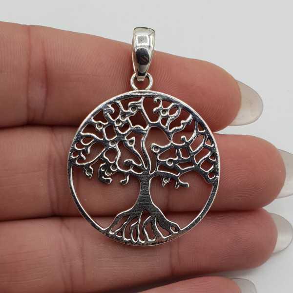 Silber Anhänger mit Baum des Lebens