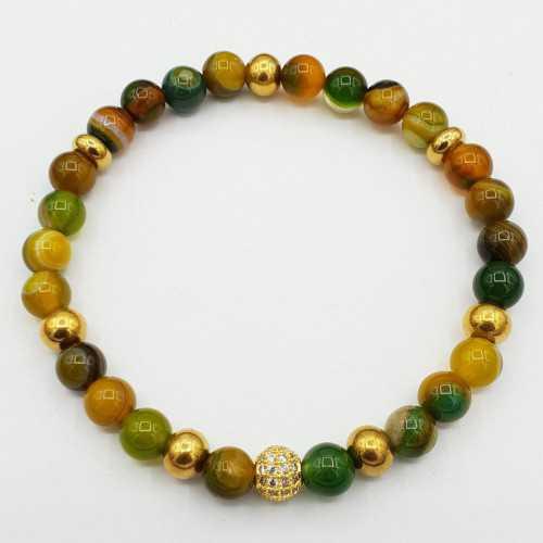 Armband van Agaat