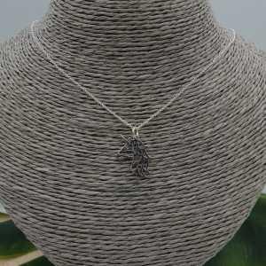 Silber-Kette mit Einhorn-Anhänger