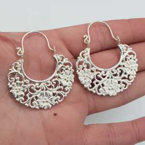 Varuna Ohrringe Silber groß