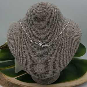 Zilveren ketting met zeemeermin hanger