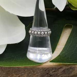 925 Perlen ring