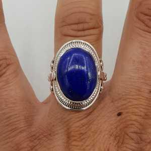 925 Sterling Silber ring-set mit Lapislazuli