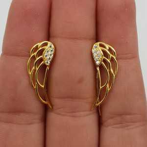 Die vergoldeten Flügel oorklimmers mit Cz