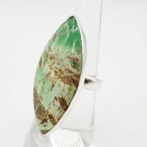 925 Sterling Silber ring mit marquise Varisciet einstellbar