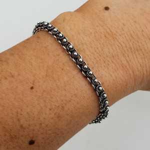 925 Sterling Silber Indianer Armband