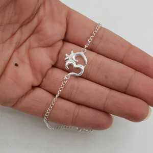 925 Sterling zilveren armband Ohm teken