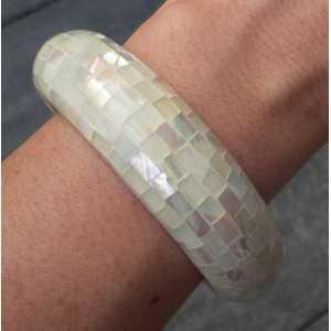Armband van mosaic Parelmoer