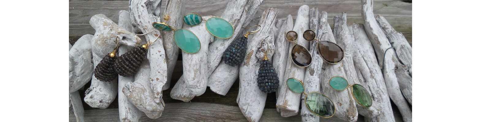 Gold Plated Gemstone Jewelry