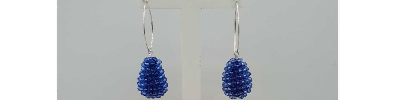 Glassberry earrings