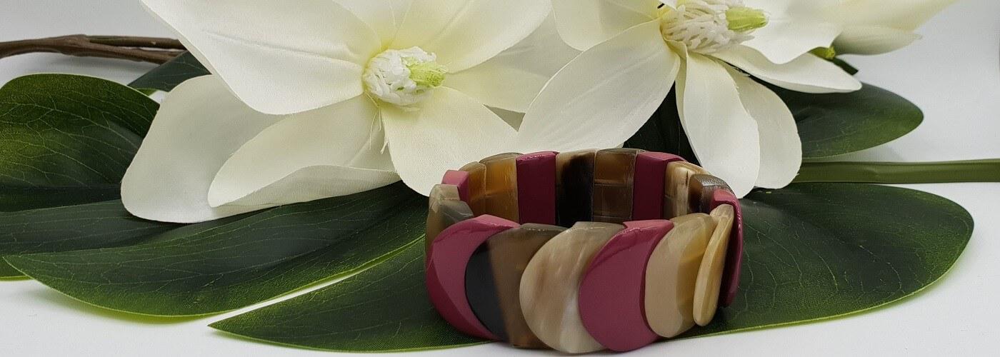 Bracelets with Buffalo Horn